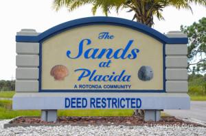 Rotonda Sands Entrance